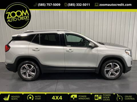 2018 GMC Terrain for sale at ZoomAutoCredit.com in Elba NY