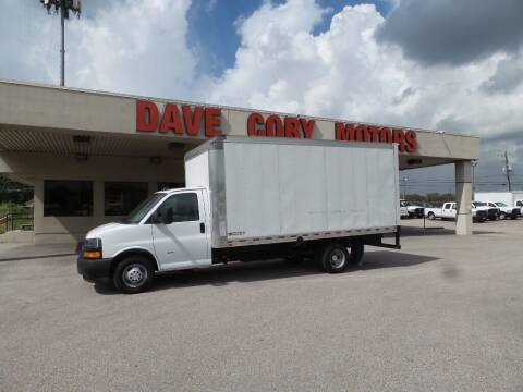 2021 Chevrolet Express Cutaway for sale at DAVE CORY MOTORS in Houston TX