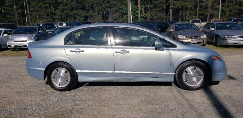 2006 Honda Civic for sale at WILSON MOTORS in Spanaway WA