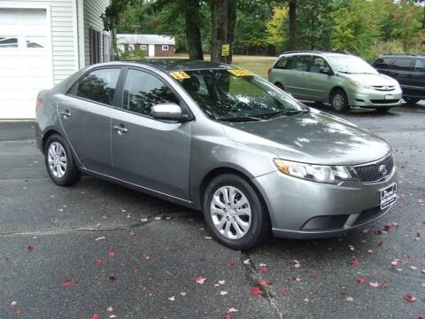 2012 Kia Forte for sale at DUVAL AUTO SALES in Turner ME