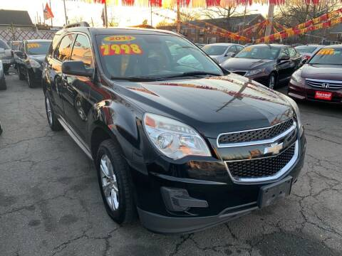 2013 Chevrolet Equinox for sale at Metro Auto Exchange 2 in Linden NJ