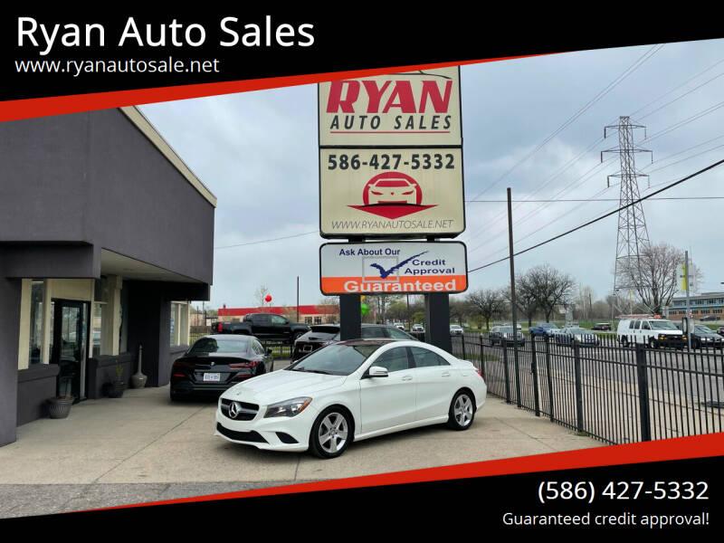 2016 Mercedes-Benz CLA for sale at Ryan Auto Sales in Warren MI