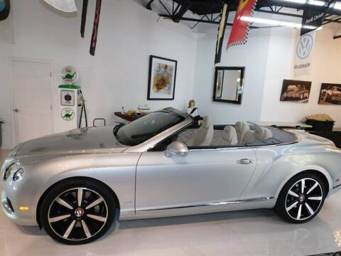 2013 Bentley Continental for sale at Auto Sport Group in Delray Beach FL