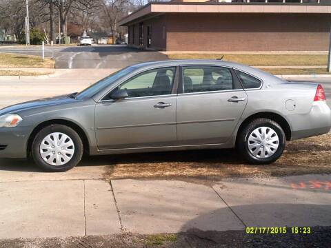2007 Chevrolet Impala for sale at D & D Auto Sales in Topeka KS