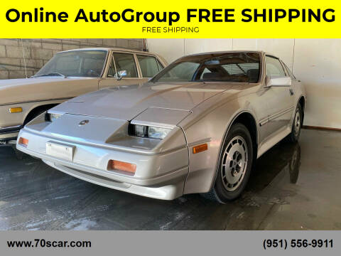 1986 Nissan 300ZX for sale at Online AutoGroup FREE SHIPPING in Riverside CA