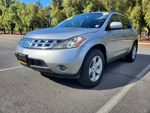 2004 Nissan Murano for sale at ALL CREDIT AUTO SALES in San Jose CA