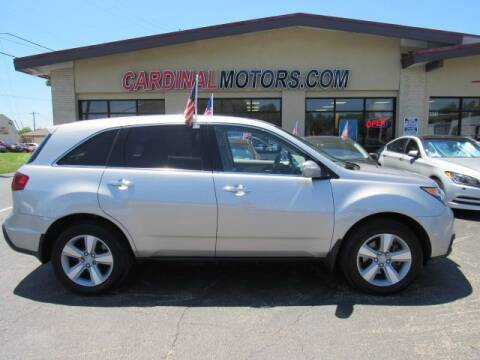 2012 Acura MDX for sale at Cardinal Motors in Fairfield OH