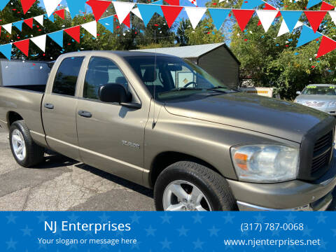 2008 Dodge Ram Pickup 1500 for sale at NJ Enterprises in Indianapolis IN