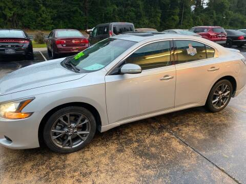 2014 Nissan Maxima for sale at TOP OF THE LINE AUTO SALES in Fayetteville NC