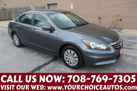 2012 Honda Accord for sale at Your Choice Autos in Posen IL