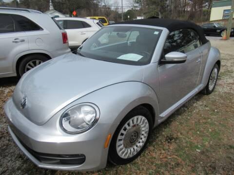 2014 Volkswagen Beetle Convertible for sale at Dallas Auto Mart in Dallas GA