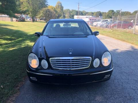 2003 Mercedes-Benz E-Class for sale at Speed Auto Mall in Greensboro NC