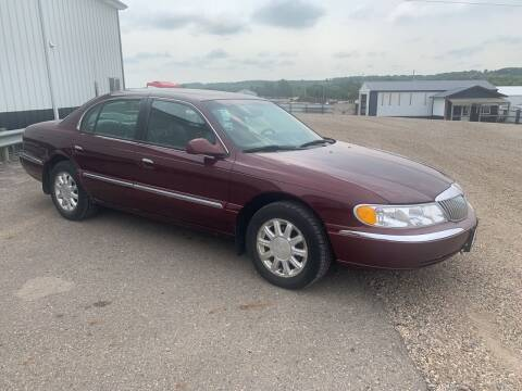 2001 Lincoln Continental for sale at TRUCK & AUTO SALVAGE in Valley City ND