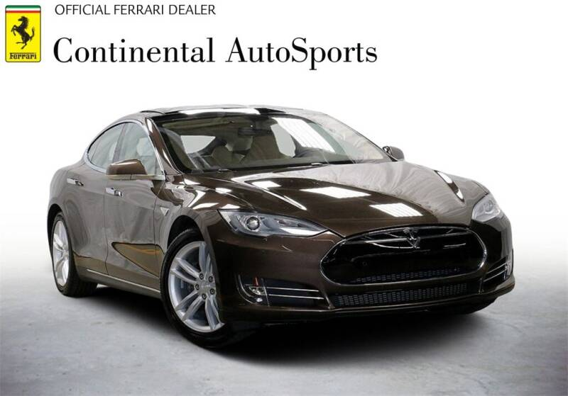 2014 Tesla Model S for sale at CONTINENTAL AUTO SPORTS in Hinsdale IL