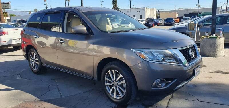 2014 Nissan Pathfinder for sale at Auto Land in Ontario CA