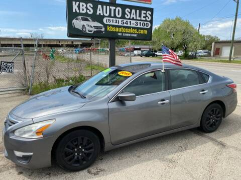 2015 Nissan Altima for sale at KBS Auto Sales in Cincinnati OH