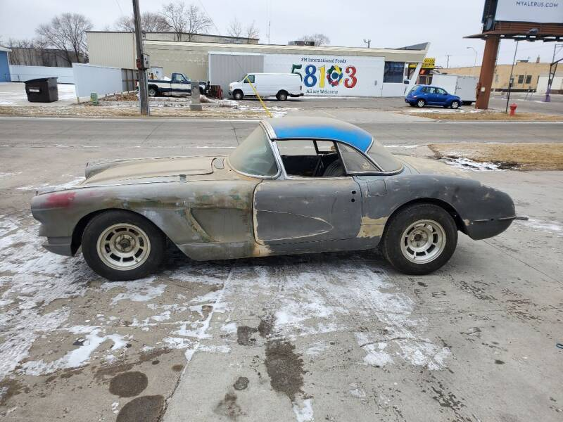 1960 Chevrolet Corvette for sale at GOOD NEWS AUTO SALES in Fargo ND