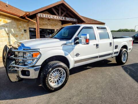 2015 Ford F-250 Super Duty for sale at Performance Motors Killeen Second Chance in Killeen TX