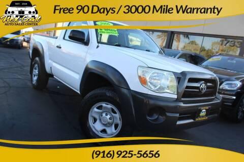 2006 Toyota Tacoma for sale at West Coast Auto Sales Center in Sacramento CA