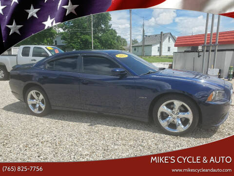 2013 Dodge Charger for sale at MIKE'S CYCLE & AUTO in Connersville IN
