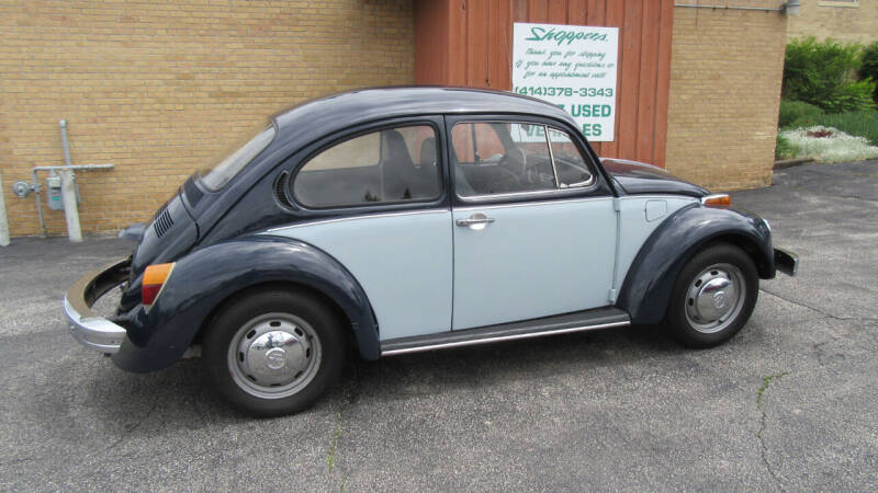 1976 Volkswagen Beetle for sale at LENTZ USED VEHICLES INC in Waldo WI