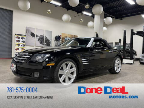 2005 Chrysler Crossfire for sale at DONE DEAL MOTORS in Canton MA