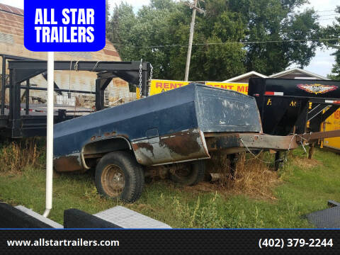 USED TRUCK BED TRAILER for sale at ALL STAR TRAILERS Used in , NE
