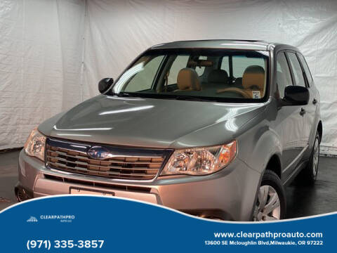 2009 Subaru Forester for sale at CLEARPATHPRO AUTO in Milwaukie OR