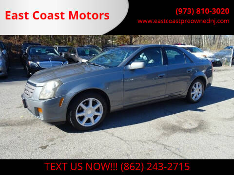 2004 Cadillac CTS for sale at East Coast Motors in Lake Hopatcong NJ