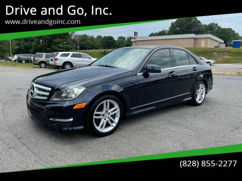 2013 Mercedes-Benz C-Class for sale at Drive and Go, Inc. in Hickory NC