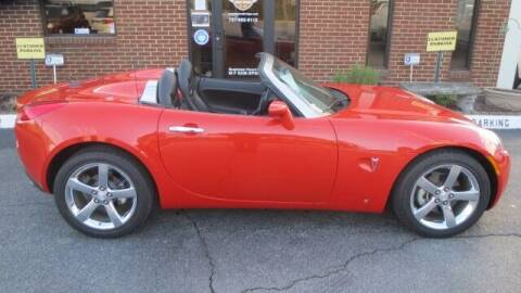 2008 Pontiac Solstice for sale at Vans Of Great Bridge in Chesapeake VA