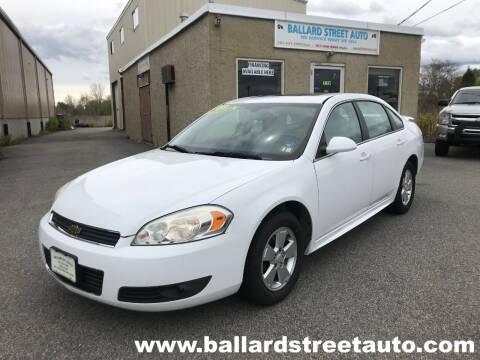 2010 Chevrolet Impala for sale at Ballard Street Auto in Saugus MA