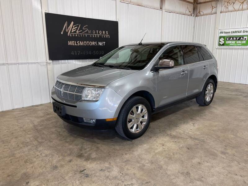 2007 Lincoln MKX for sale at Mel's Motors in Nixa MO