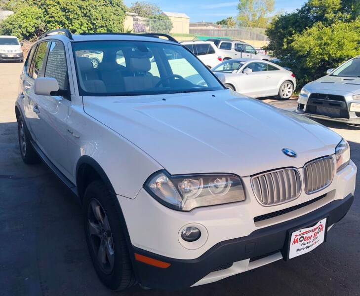 2007 BMW X3 for sale at MotorSport Auto Sales in San Diego CA