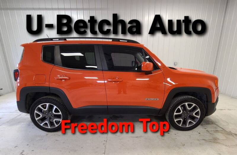 2016 Jeep Renegade for sale at Ubetcha Auto in St. Paul NE