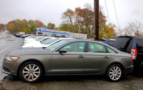 2014 Audi A6 for sale at Top Line Import of Methuen in Methuen MA