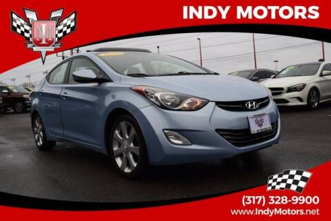 2012 Hyundai Elantra for sale at Indy Motors Inc in Indianapolis IN