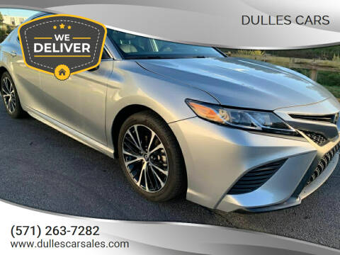 2019 Toyota Camry for sale at Dulles Cars in Sterling VA