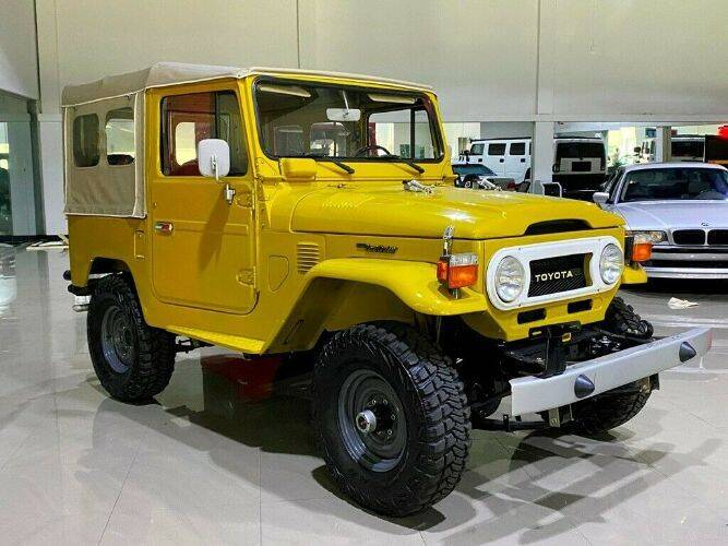 1976 Toyota Land Cruiser for sale in Cadillac, MI