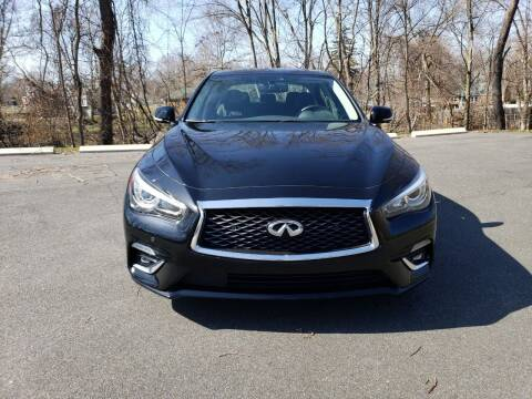 2018 Infiniti Q50 for sale at KLC AUTO SALES in Agawam MA