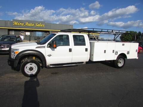 2012 Ford F-550 Super Duty for sale at MIRA AUTO SALES in Cincinnati OH