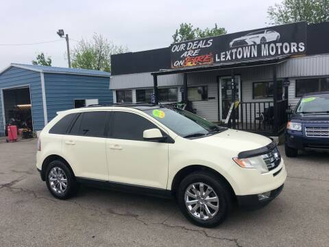 2008 Ford Edge for sale at LexTown Motors in Lexington KY