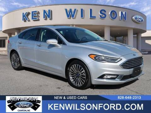 2018 Ford Fusion for sale at Ken Wilson Ford in Canton NC