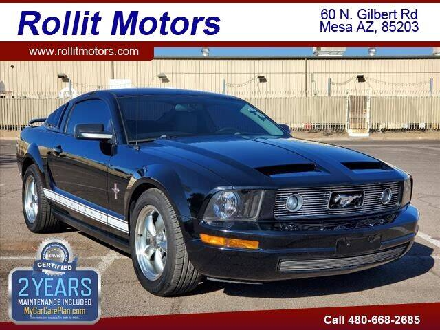 2006 Ford Mustang for sale at Rollit Motors in Mesa AZ