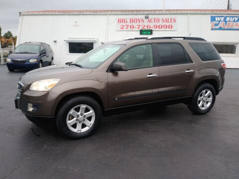 2008 Saturn Outlook for sale at Big Boys Auto Sales in Russellville KY