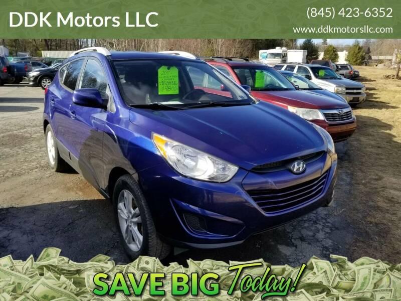 2011 Hyundai Tucson for sale at DDK Motors LLC in Rock Hill NY