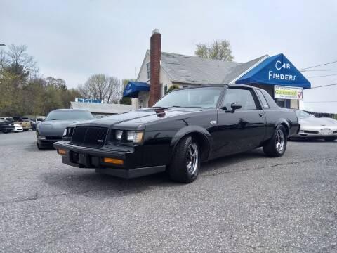 1987 Buick Regal for sale at CAR FINDERS OF MARYLAND LLC in Eldersburg MD
