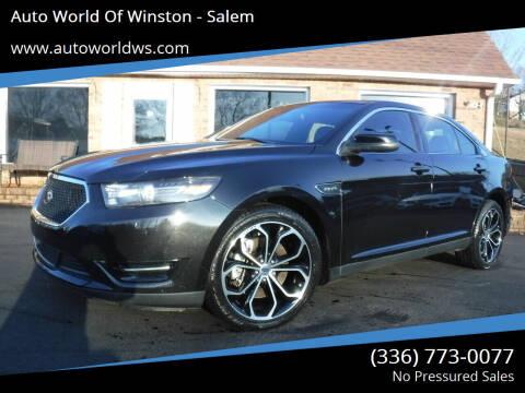 2015 Ford Taurus for sale at Auto World Of Winston - Salem in Winston Salem NC