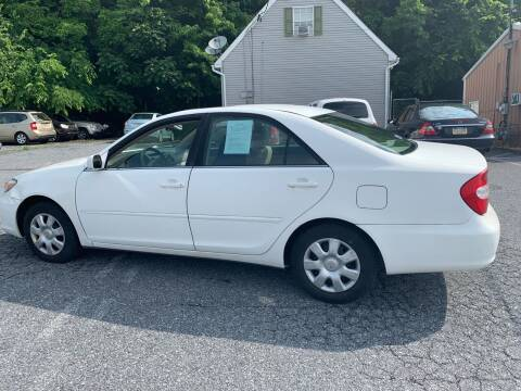 2004 Toyota Camry for sale at YASSE'S AUTO SALES in Steelton PA