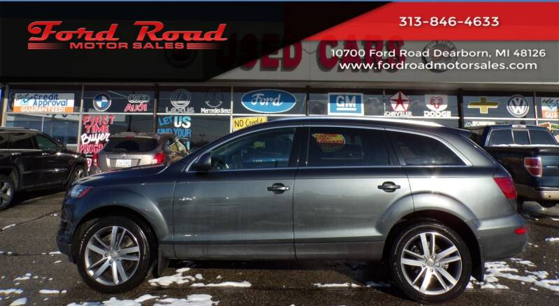 2013 Audi Q7 for sale at Ford Road Motor Sales in Dearborn MI